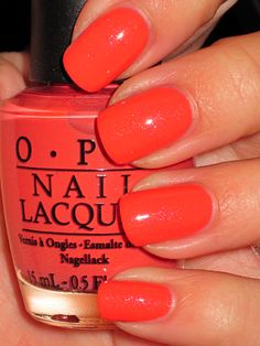 OPI - Are We There Yet More summery than fall but I love it. My dream job is coming up with names for nail polishes.