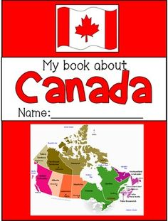 This completely editable booklet has 8 pages of Canadian symbols and facts for primary students. Each page has images to colour and simple, fill in the blank sentences to learn about Canadian symbols (answer keys provided).Some symbols included are:-Canad Canada For Kids, All About Canada, Canadian Symbols, Canadian History, Canadian Art, Social Studies Activities, Teaching Social Studies, Social Studies Notebook, History Activities
