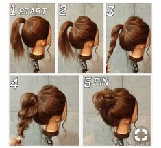 I want to try this, it looks like a good way to get a perfect messy bun.