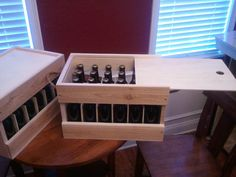 DIY Wooden Beer Bottle Crate