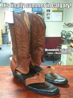 As a Calgarian I can confirm people do wear these during stampede. Often paired with an American flag tee shirt. ~Zoey