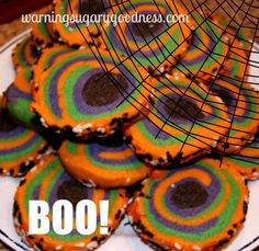Halloween Rolled sugar cookies-Easy