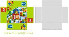 miniature Lego printable for the dollhouse - original website unavailable