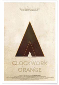 A Clockwork Orange VON Calm The Ham now on JUNIQE!