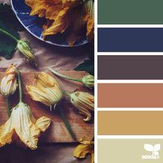 Floral inspired color palette by design seeds. Colour Pallette, Colour Schemes, Color Combos, Color Patterns, Pantone, Design Seeds, Decoration Inspiration, Color Inspiration, Color Blending