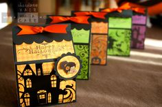 Happy Halloween! Treat Boxes for Classmates | Chocolate Hair / Vanilla Care