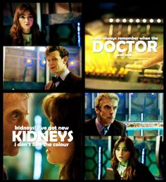 Doctor Who - The Time Of The Doctor [set of gifs] - love this edit!
