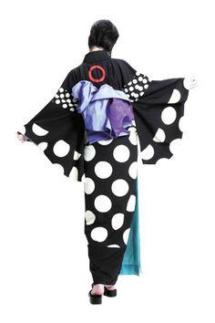着物kimono back style