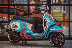 Vespa Lambretta, Vespa Scooters, Scooter Custom, Custom Bikes, Motocross Girls, Moto Scooter, Vespa Sprint, Martini Racing, Motor Works