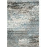 Found it at Wayfair - Tahoe Gray / Light Blue Area Rug