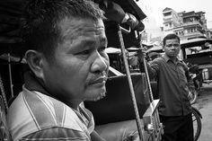 Shots from the streets: Tuk Tuk drivers Phnom Penh  #streetphoto #ricohgr