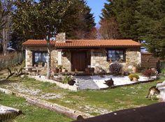 Una bonita casa de Rústicas . Podemos considerarla como tipo refugio  o fin de semana. #casasrusticasplanos