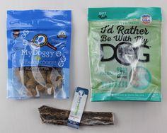 BarkBox Subscription Box Review & Coupon March 2016 - treats and chew
