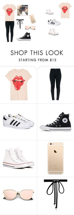 """""""Untitled #7"""" by jessica-millinder on Polyvore featuring MadeWorn, adidas, Converse and Joomi Lim"""