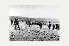 US servicemen training at Slapton Sands in a rehearsal for D Day