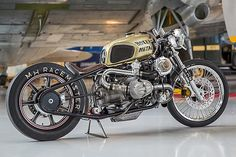 Custom BMW R100 with double Turbocharger
