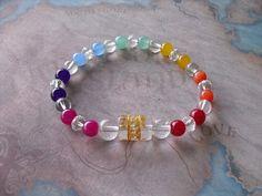 Carved  om  healing stones bracelet by Shynnasplace on Etsy, $25.00
