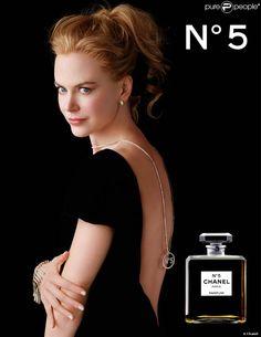 Nicole Kidman pour la campagne N°5 de Chanel. 2007