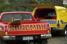 Cool cars 2019 'Son of the beach': The Holden Sandman became a symbol of Aussie surf culture and the great outdoors Australian Muscle Cars, Aussie Muscle Cars, American Muscle Cars, Australian Ute, Australian Vintage, Holden Kingswood, Holden Muscle Cars, Holden Monaro, Holden Australia