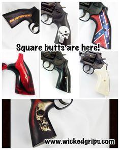 Hand Guns, Wicked, Firearms, Pistols