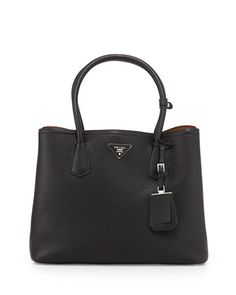 ysl bag de jour - small cabas rive gauche bag in fog grained leather