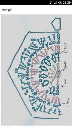 African Flower Crochet Pattern Half : 1000+ images about Crochet: african flowers on Pinterest ...