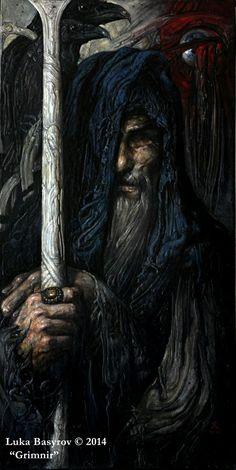 Odin, The GrimNir