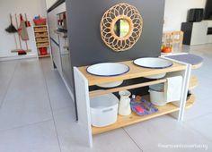 Diy Montessori, Montessori Practical Life, Montessori Toddler, Ikea, Toddler Meals, Toddler Rooms, Kid Spaces, Playroom, Diy And Crafts