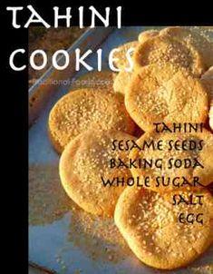 Tahini Cookies @ Traditional-Foods.com