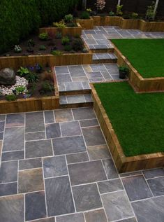 Browse the images of black modern garden designs: GALAXY SANDSTONE PAVING Find the … , The post Browse the images of black, modern … appeared first on Pinova - Gardening Modern Landscape Design, Modern Garden Design, Backyard Garden Design, Modern Landscaping, Backyard Landscaping, Landscaping Ideas, Patio Design, Desert Landscape, Modern Backyard