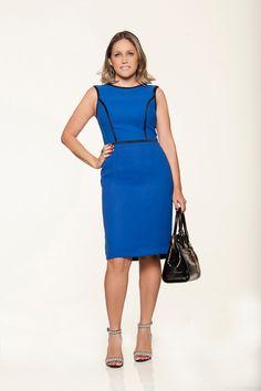 #modanotrabalho#fashionatwork#azul para trabalhar#