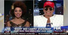 Video: Joy Villa Talks Grammys 'Make America Great Again' Trump Dress alongside Designer Andre Soriano