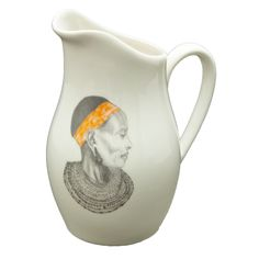 Jug: Alicia Maasai Wise Woman R270,00 Colour: African Orange 1 x 800ml Ceramic Jug Dishwasher and Microwave safe Call us: +27 (0) 861999938 Chutney Grey - Cape Town