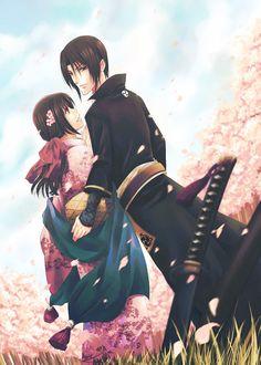 Hakuouki Shinsengumi Kitan (Demon Of The Fleeting Blossom) Mobile Wallpaper - Zerochan Anime Image Board Anime Love Story, Manga Love, I Love Anime, Manga Anime, Anime Art, Samurai, Anime Ninja, Disney Princess Frozen, Hot Anime Boy