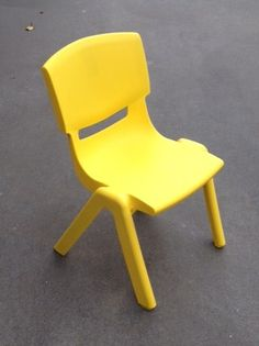 Yellow Child Chairs Suitable for ages Easily Stackable for transporting Kids Party Tables, Adjustable Height Table, Party Hire, Colorful Chairs, Little People, Table And Chairs, Yellow, Children, Fun