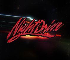 Retro 80's New wave dance party Logo by Matthew Salter, via Behance
