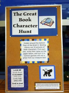 The Lion is a Bookworm: The Great Book Character Hunt
