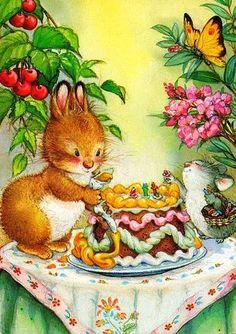 Приходи на День Рождения | Иллюстрации lisi Martin. Обсуждение на LiveInternet - Российский Сервис Онлайн-Дневников