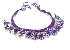 Hey, I found this really awesome Etsy listing at https://www.etsy.com/listing/186052821/needle-lace-crochet-necklace-crochet