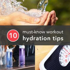 Did you know that drinking water while working out not only helps keep you hydrated but can also help fight fatigue and prolong endurance? To help you stay hydrated, Greatist.com has 10 tips to help prevent mid-workout dehydration.