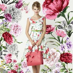 The Rouge Rose Dress