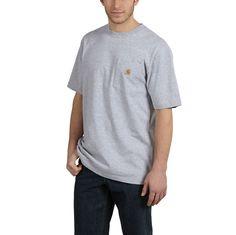 Carhartt Mens Workwear Gphc Digi Camo SS Tshrt 101527 Heather Gray