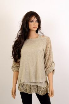 Śliczna delikatna bluzeczka damska tylko w http://lamod.pl/k48,odziez-damska-bluzki.html