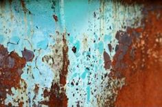 Beautiful images of rust from @Sheila Zeller