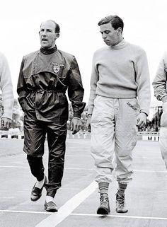 Jim Clark & Stirling Moss