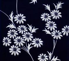 Japanese Fabric, Japanese Prints, Japanese Kimono, Fabric Butterfly, Kimono Fabric, Yukata, Vintage Cotton, Vintage Fabrics, Vintage Japanese