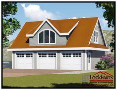 Best Log Cabin Garage With Lofts Garage With Hand Scribe Log 400 x 300