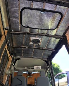 "48 Likes, 6 Comments - @wjplata on Instagram: ""Since #vanlife progress has been requested! Just finished insulating my ceiling- another dilemma…"""