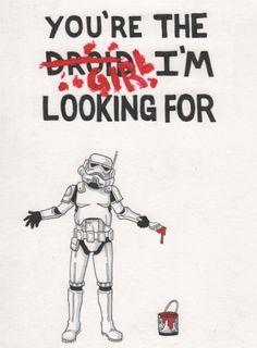 Storm Trooper Valentine by ~bestsketch on deviantART     #valentinesday #valentine #starwars