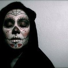Señorita Día de los muertos